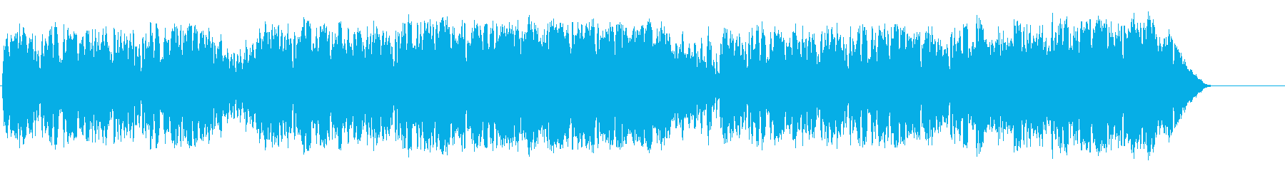 Festive, hilarious country's reproduced waveform