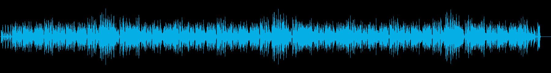 元気で明るい気持ちになれるピアノBGMの再生済みの波形
