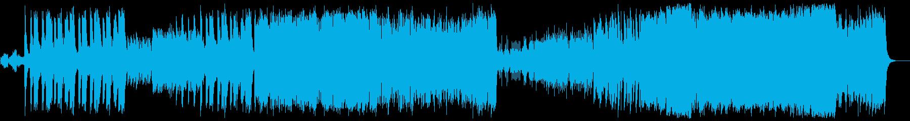 現代の交響曲 劇的な 神経質 ファ...の再生済みの波形