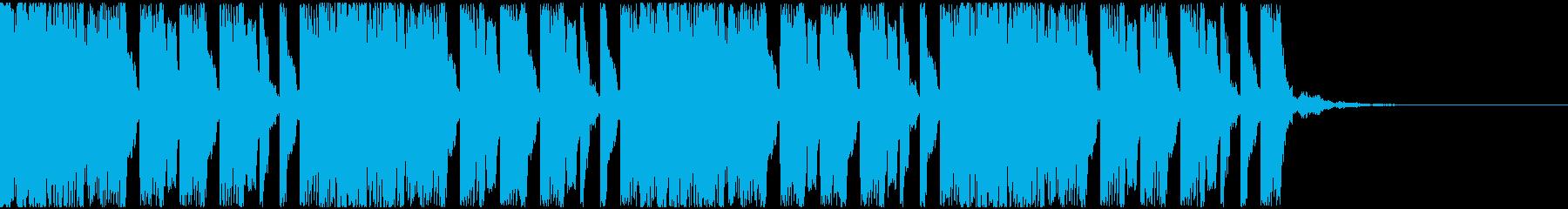【EDM】トランス、ロング8、ジングル2の再生済みの波形