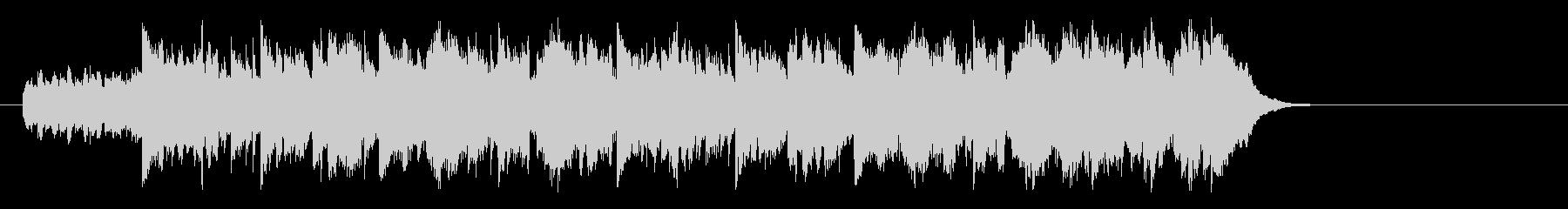 優しいアコースティック(イントロ~A)の未再生の波形