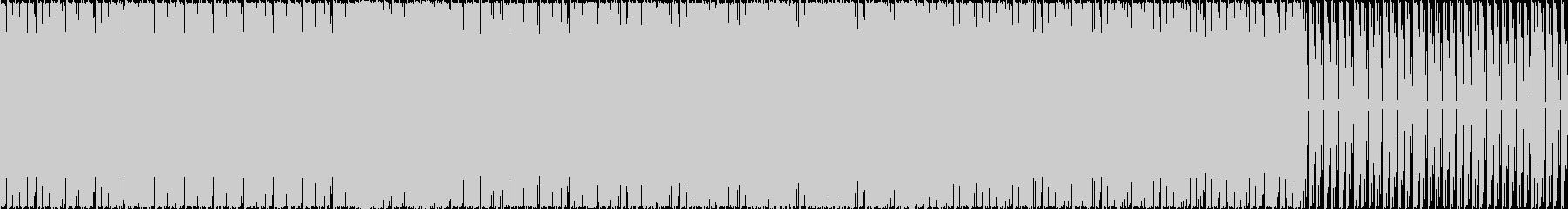 djの方の素材にも使えるTrackです。の未再生の波形