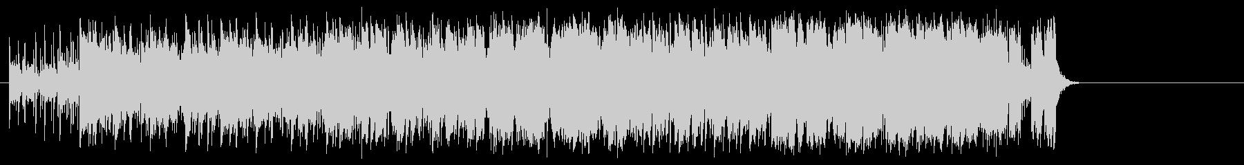 明るいオープニングポップ(イントロ~…)の未再生の波形