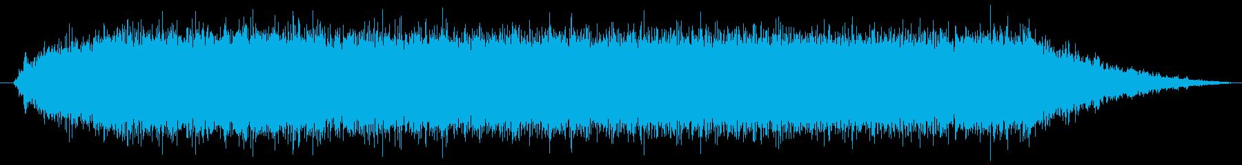 ハンドベルトサンダー:開始、実行、...の再生済みの波形