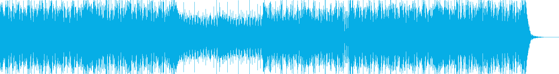 軽快なスィングハウスの再生済みの波形