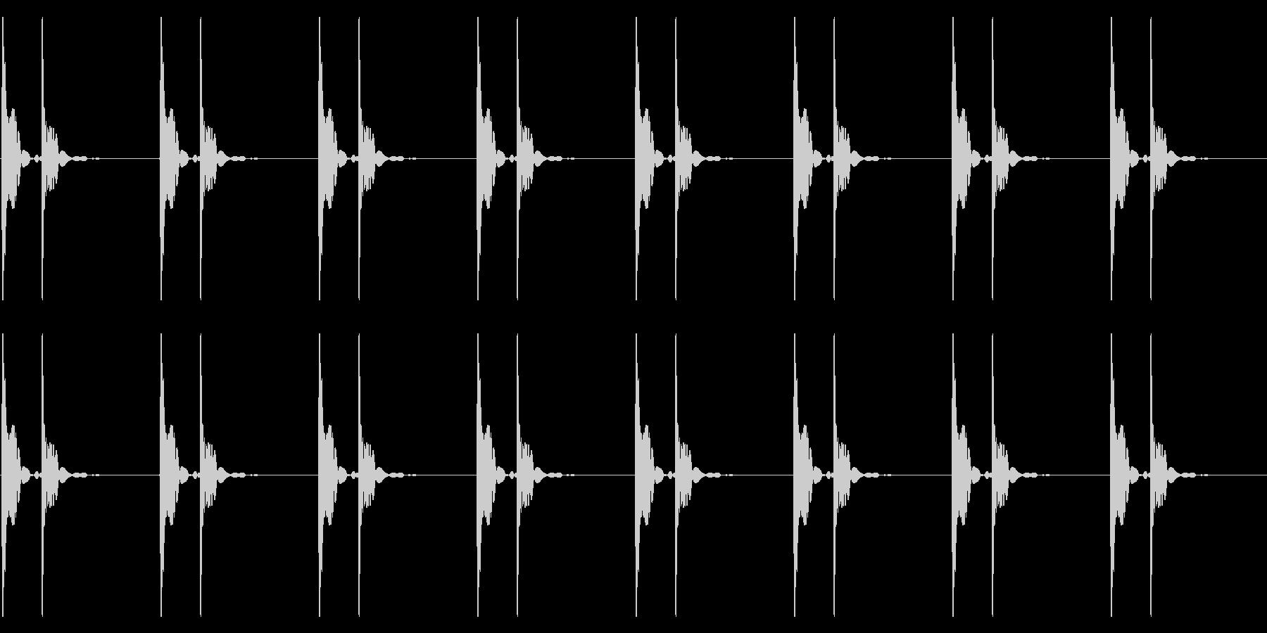 心臓の鼓動_下降_心拍数60の未再生の波形