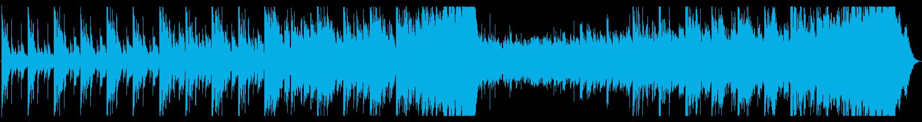 侍の勇壮な突撃をイメージした曲の再生済みの波形