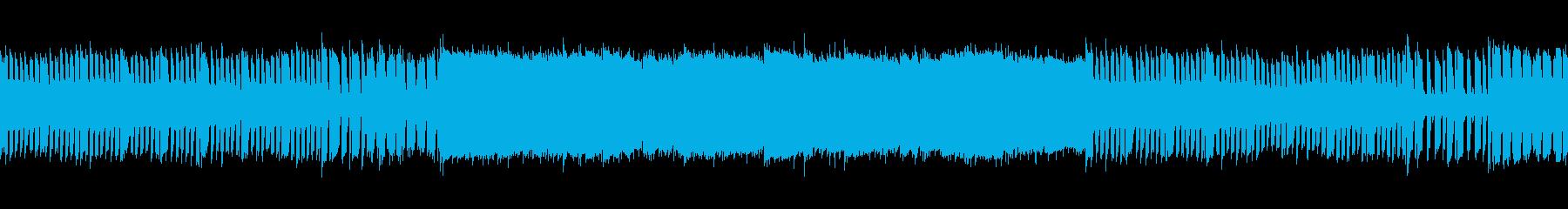 横スクロールアクションゲームに流れてそうの再生済みの波形