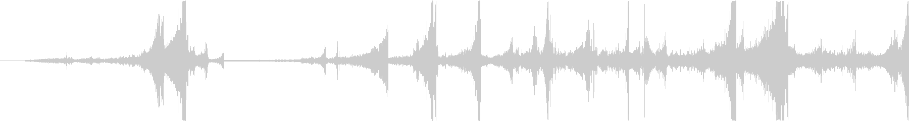 Zap 巻き戻し音・ザップ効果音 7の未再生の波形