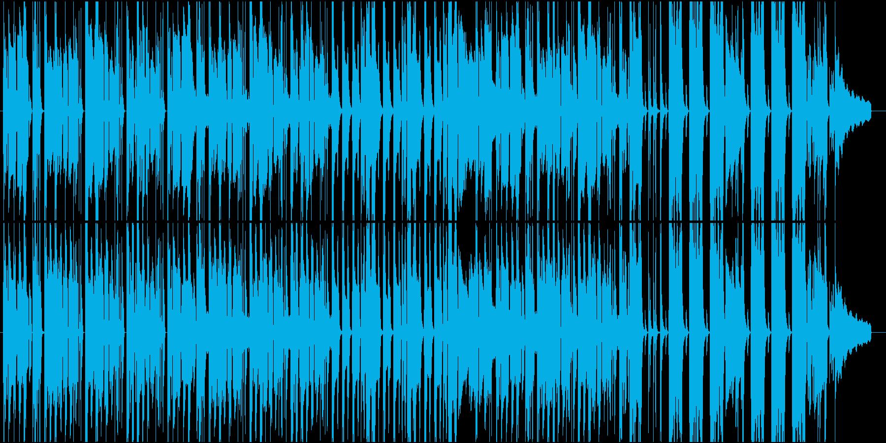 アニメ 日常 CM ほのぼの のんびりの再生済みの波形