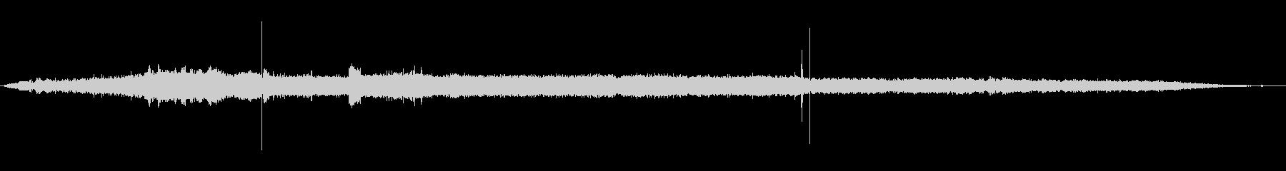 ハードドライブ:コンピュータのスト...の未再生の波形