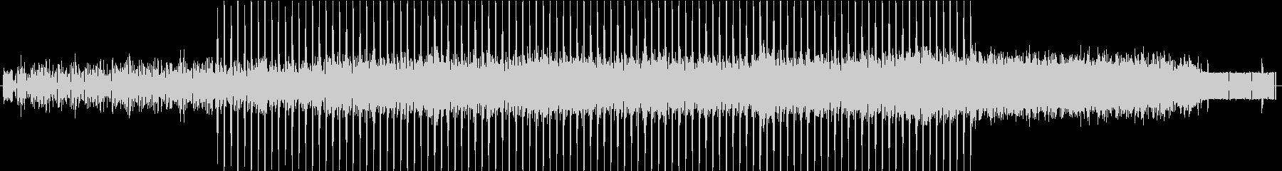 ちょっと切ない科学的なイメージの曲 SFの未再生の波形