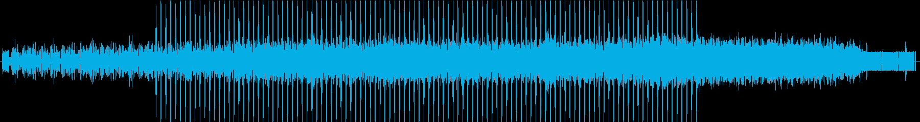 ちょっと切ない科学的なイメージの曲 SFの再生済みの波形
