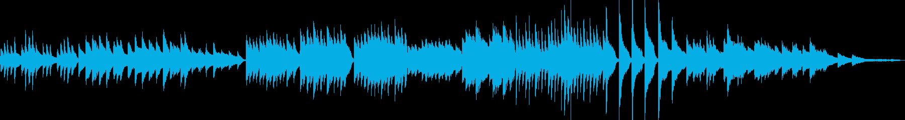 ピアノソロ1-不思議→Jazz風→叙情の再生済みの波形
