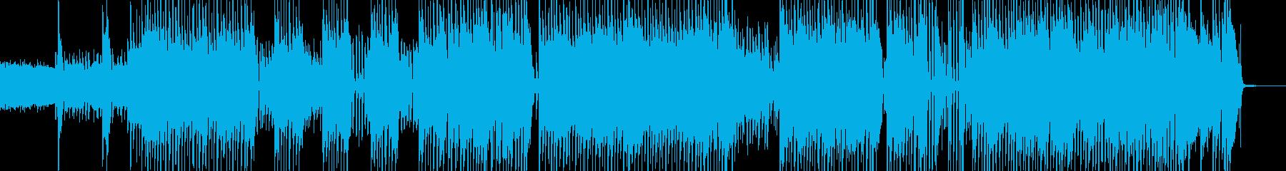 軽快ロック・フレンドリーな作品に! 短尺の再生済みの波形