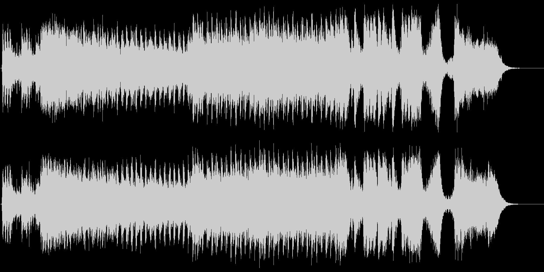 勇壮な合唱オーケストラ:フル版の未再生の波形