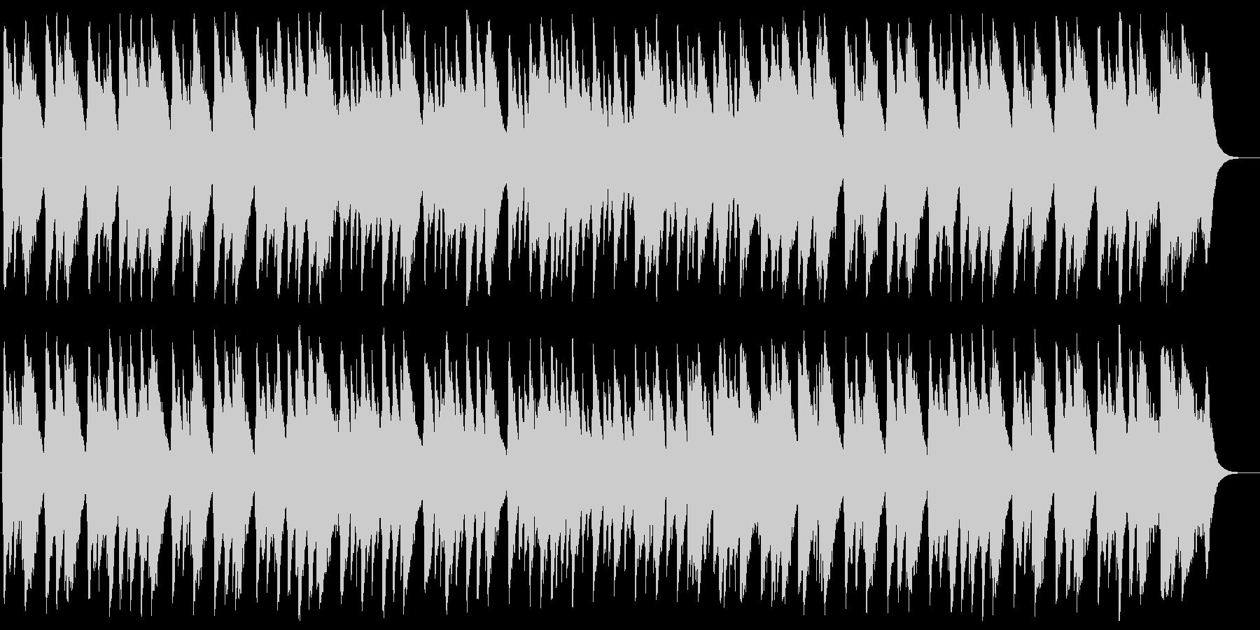 婚礼の合唱(ワーグナー)の未再生の波形