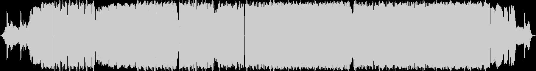 2:53〜のボーカルが特徴的な曲の未再生の波形