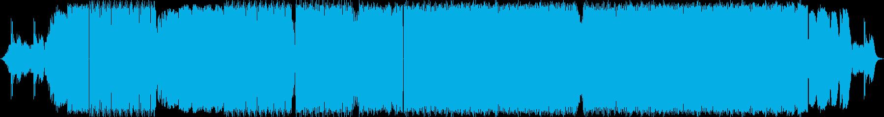 2:53〜のボーカルが特徴的な曲の再生済みの波形