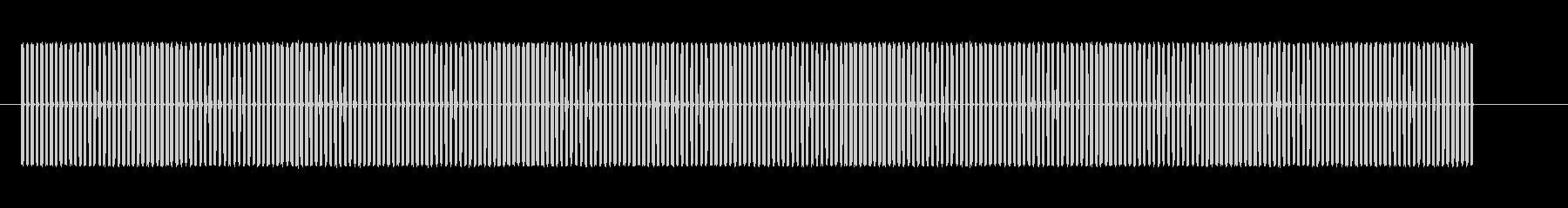 アラーム1アラームの未再生の波形