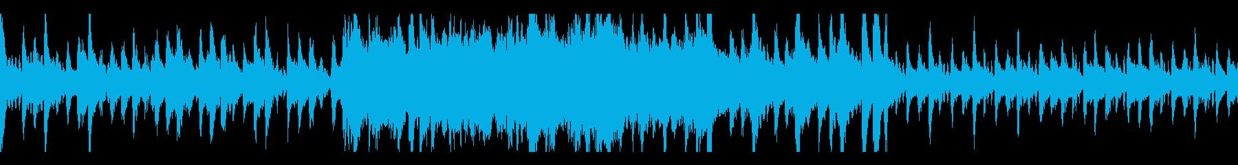 勇猛で壮大な行進曲(ループ対応)の再生済みの波形