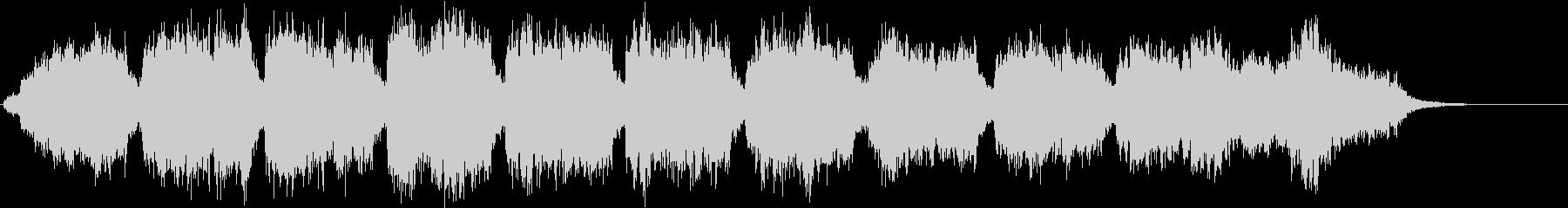 ハロウィン ホラー モンスターBGM 1の未再生の波形
