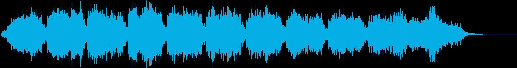 ハロウィン ホラー モンスターBGM 1の再生済みの波形