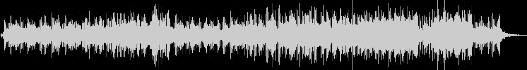 ピアノの軽快なインスト曲の未再生の波形