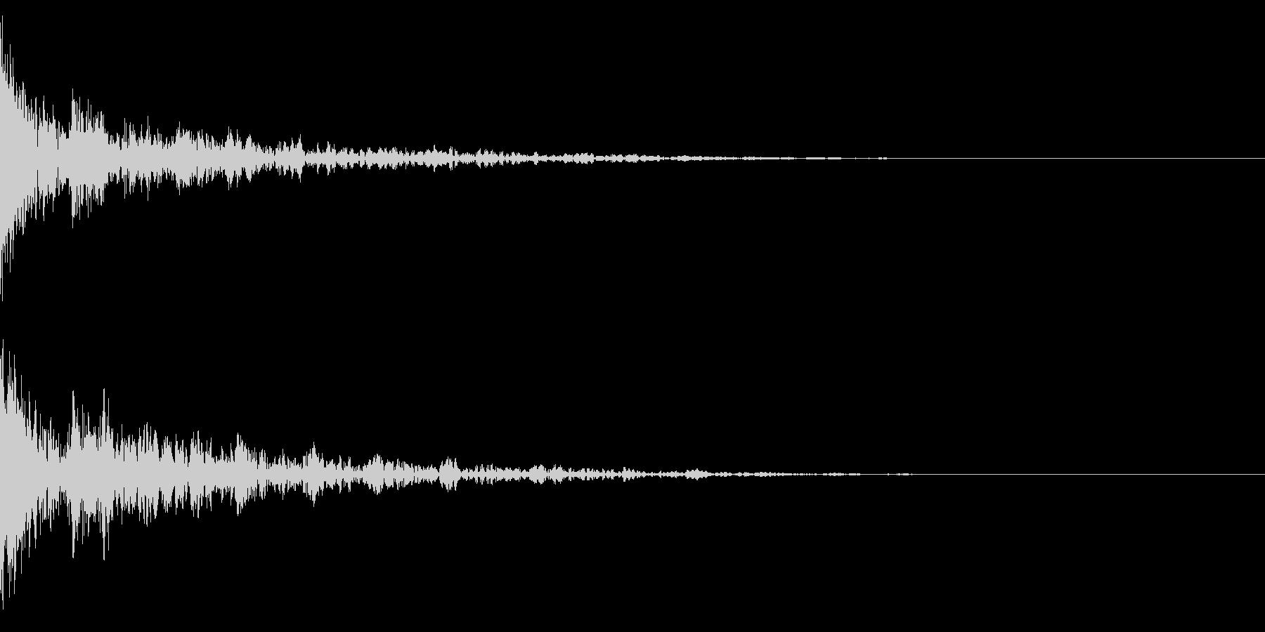 ドーン-39-2(インパクト音)の未再生の波形