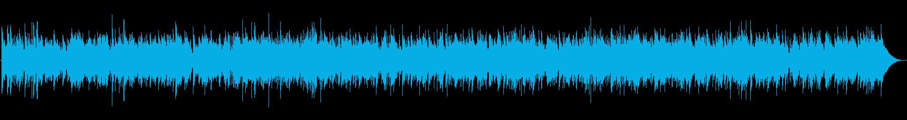 お洒落な3拍子ジャズの再生済みの波形