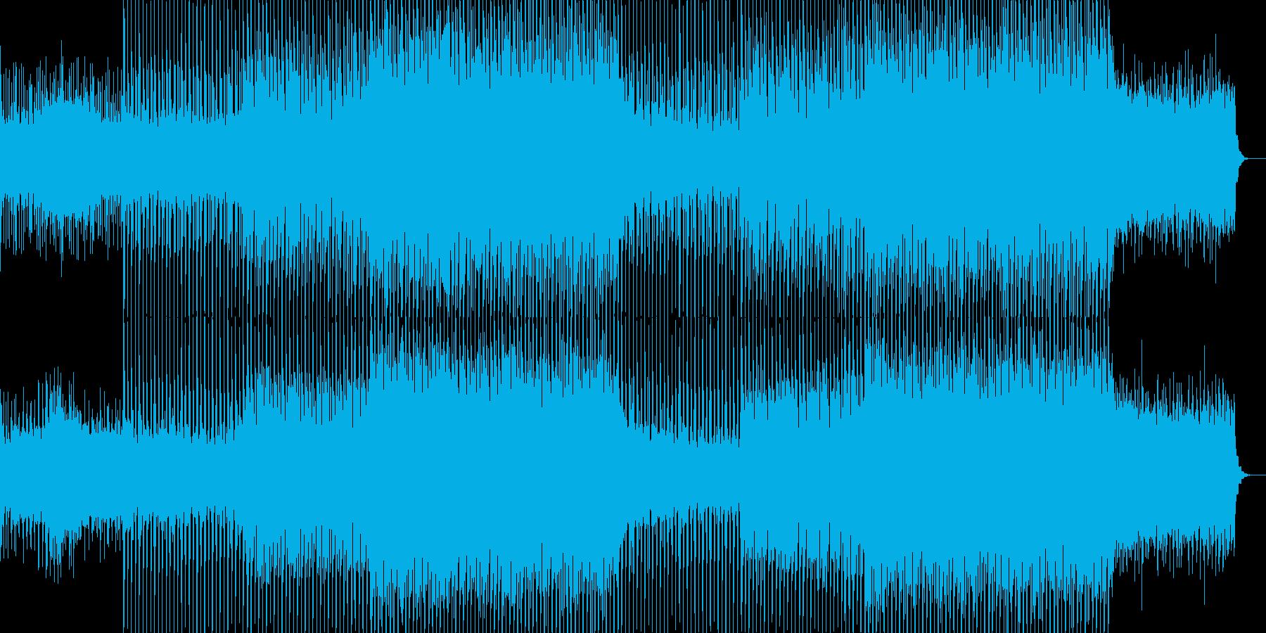 EDMクラブ系ダンスミュージック-22の再生済みの波形