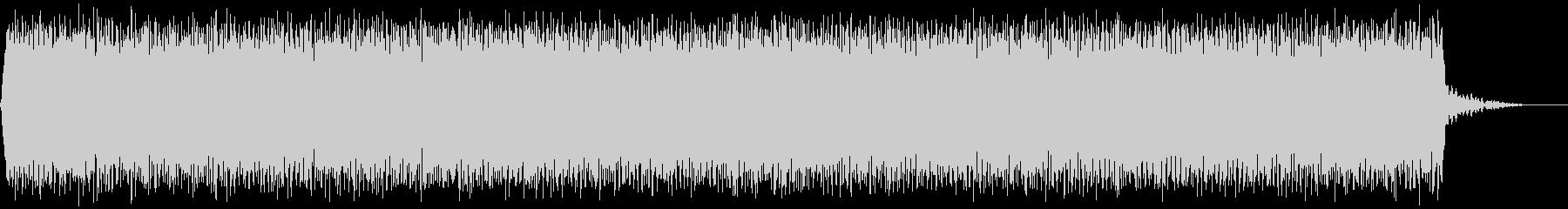 【アンビエント】ドローン_03 実験音の未再生の波形