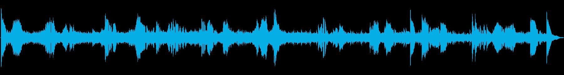 オーケストラ、ワールド、ミディアム...の再生済みの波形