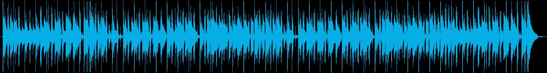雨の日の日常で話している曲の再生済みの波形
