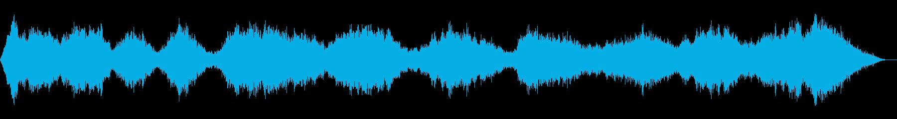 スパの店内BGMなどに使えるアンビエントの再生済みの波形