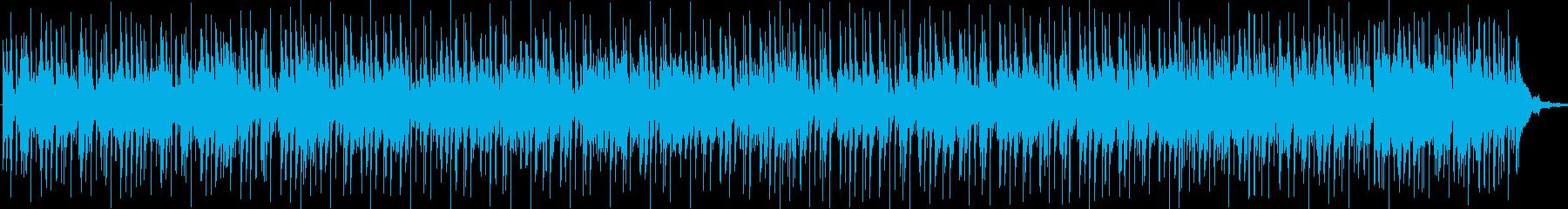 テレビのバックグラウンドミュージッ...の再生済みの波形