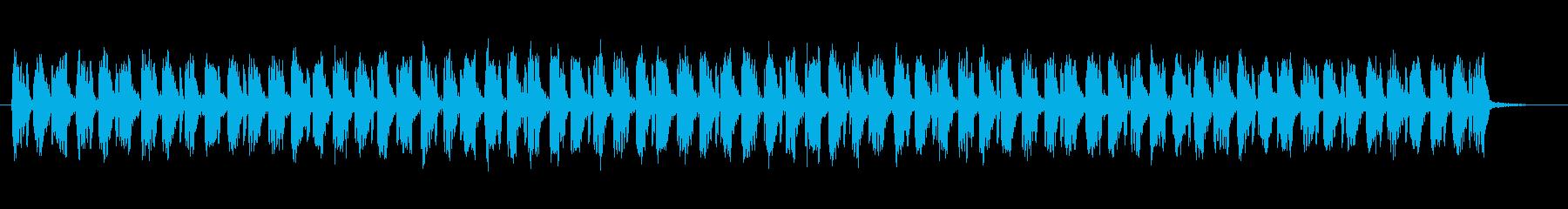 デジタル効果のあるエンジンハム造粒の脈動の再生済みの波形