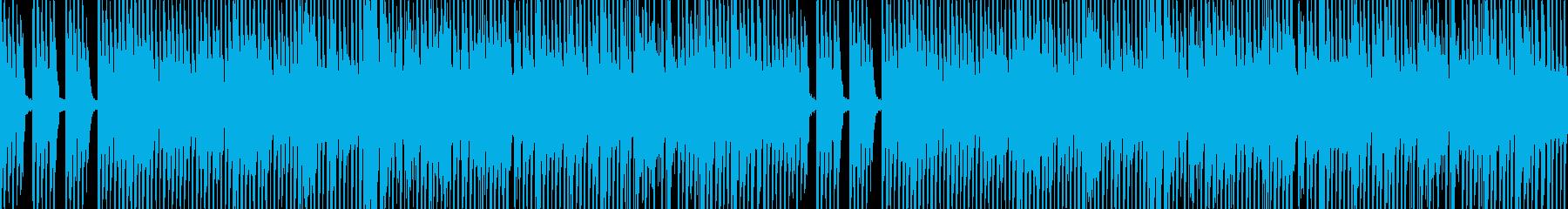生三味線と和太鼓 和を伝える 純和風の再生済みの波形