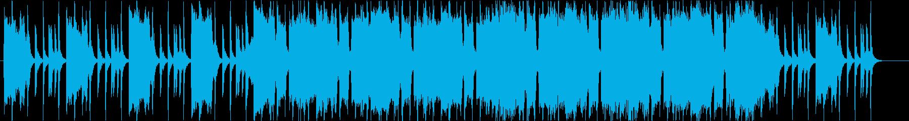 インディーロック・入場・バトル・クラップの再生済みの波形