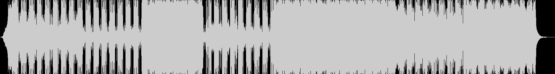 アップビート、エネルギッシュ、ロックの未再生の波形