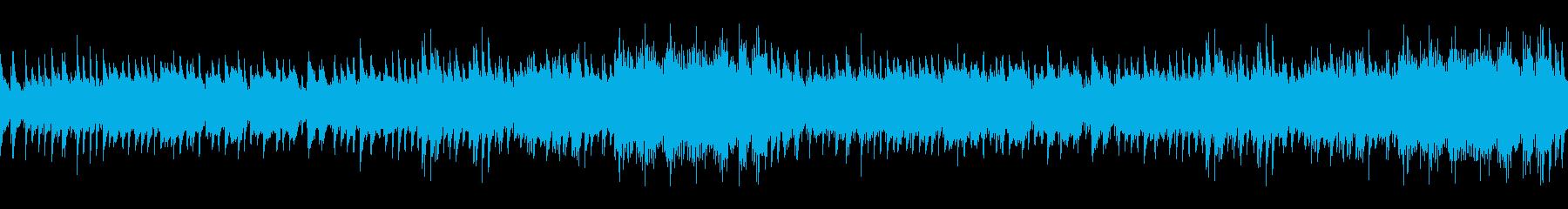RPGのフィールドっぽい曲(夜版) の再生済みの波形