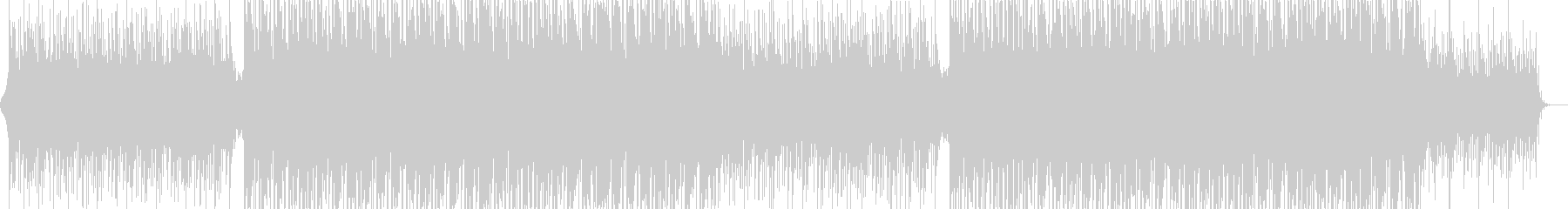 BGM that is positive and steadily progressing's unreproduced waveform
