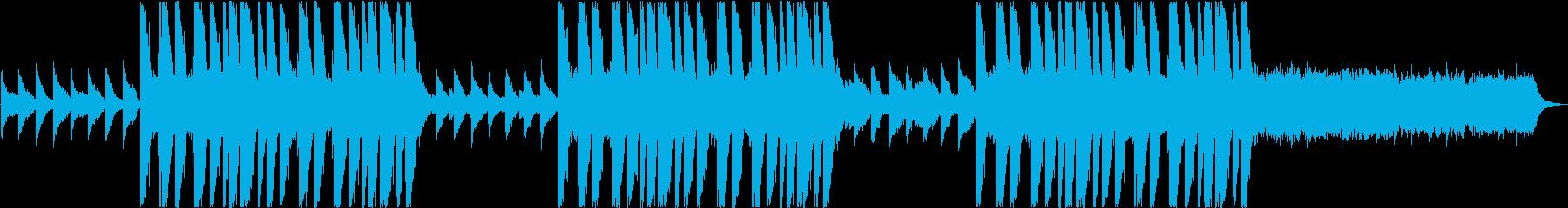 静か・洋楽・バラード・ピアノ・感動的の再生済みの波形