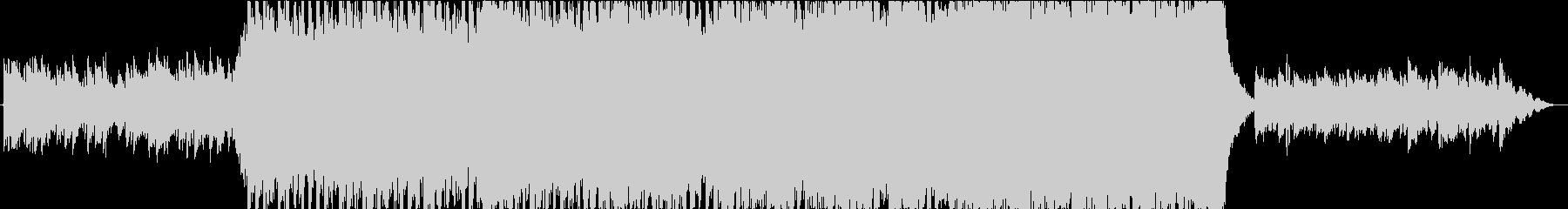 エレクトロ 交響曲 実験的な アク...の未再生の波形
