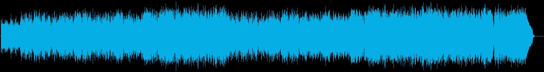ゴージャスなライトオーケストラ風ポップスの再生済みの波形