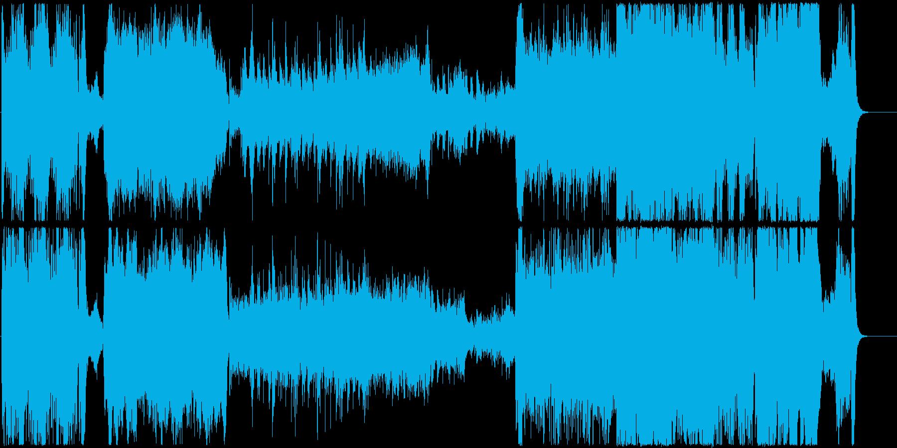 OP風の壮大なファンタジーオーケストラの再生済みの波形