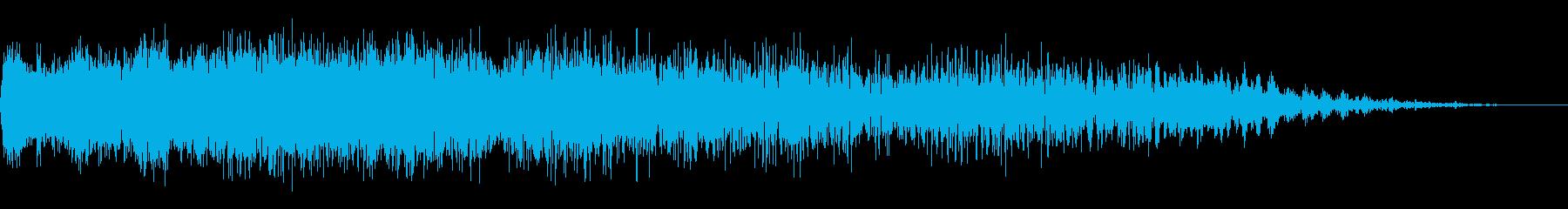 機械ダウン、壊れるA03の再生済みの波形