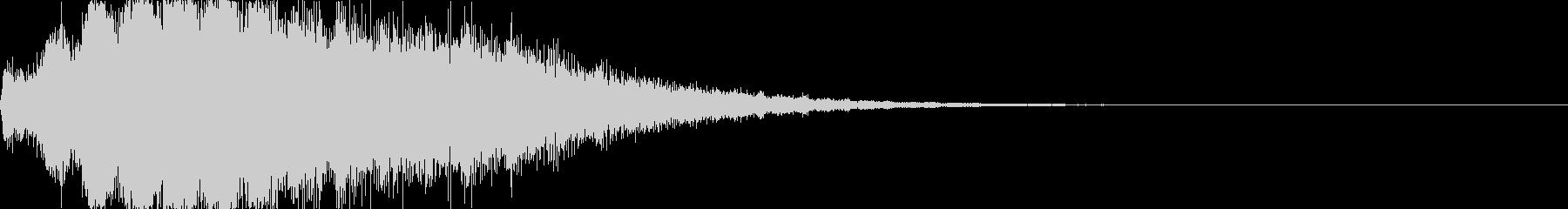 スペースプローブ:低周波振動パルス...の未再生の波形
