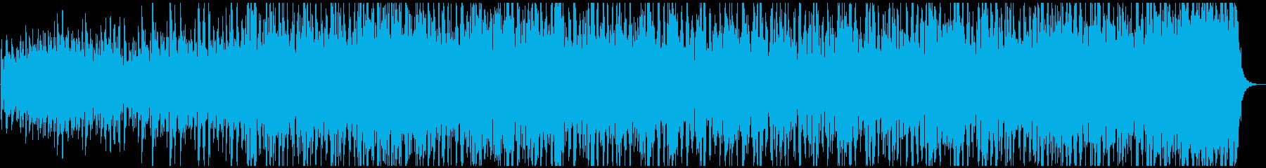 交霊術のイメージのBGMの再生済みの波形