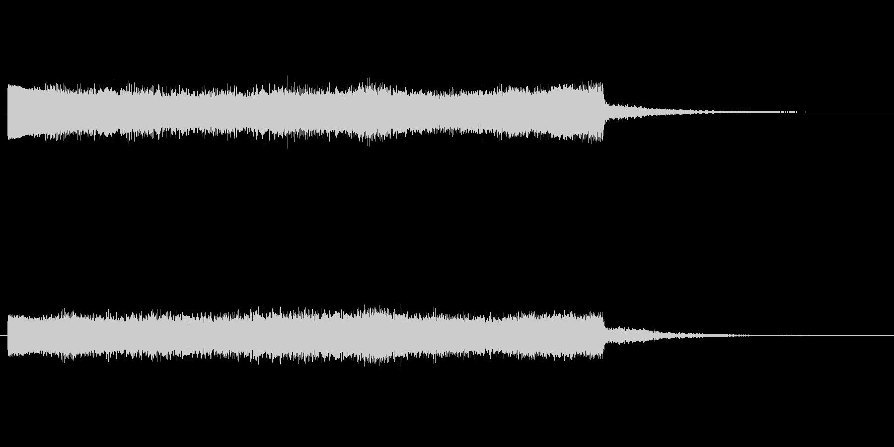 上昇 ノイズライズフォール03の未再生の波形
